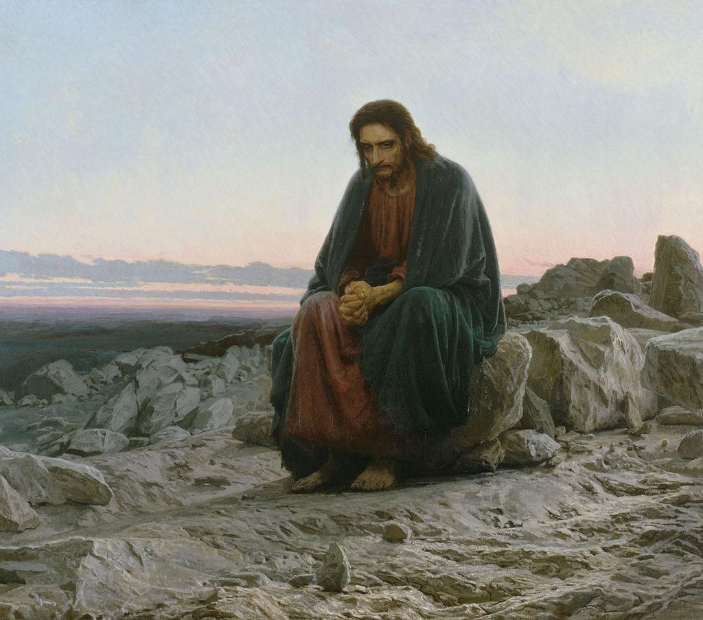 Jesus in solitude
