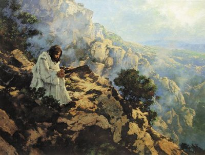 Jesus-prays-wilderness