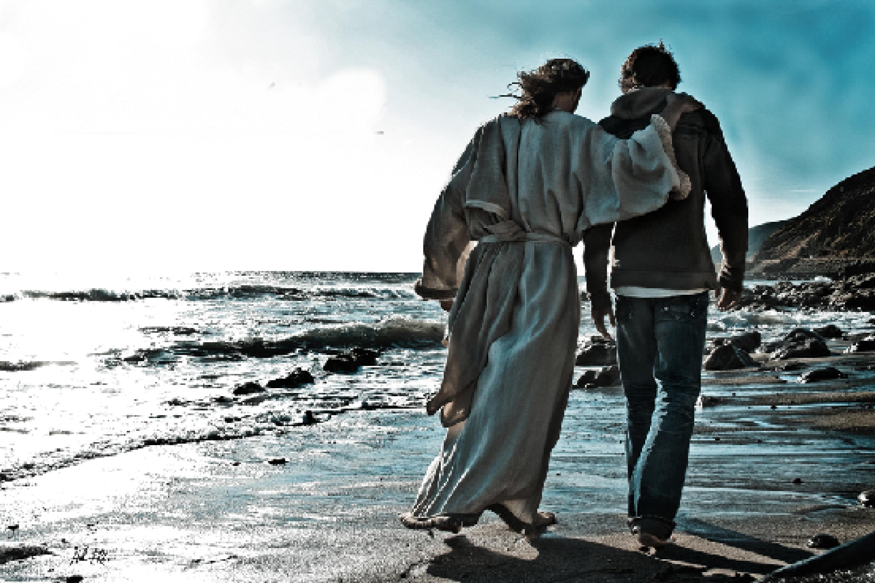 Friend-with-Jesus-beach