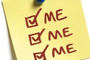 selfish-me me me