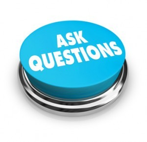 ask questions button